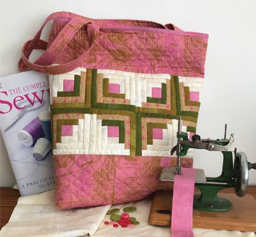 Tickled Pink Tote Bag Pattern